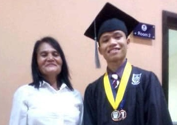 Arman D. Balatero   Awardee, Merit, Outstanding In-school and In-plant, and Learning Excellence   Bohol