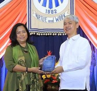 Deputy Director General Rebecca Calzado | Represented by Ms. Floramel Joy C. Songsong, Chief (Chief TESDA Specialist)