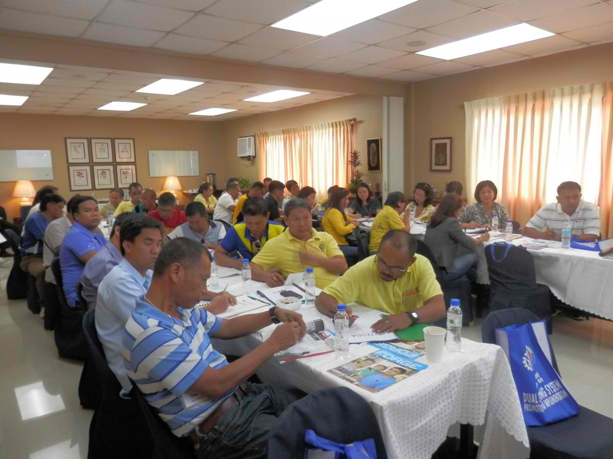 TESDA taps Dualtech Center for its DTS Course for TESDA Regional Officers