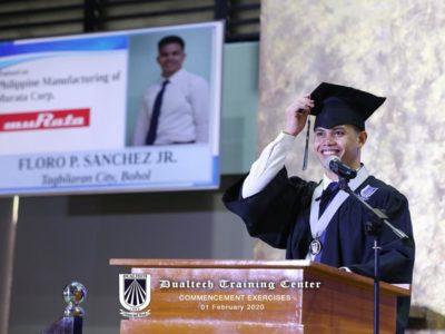 Floro P. Sanchez Jr. Awardee, Merit, In-School Performance Tagbilaran City, Bohol Trainee, Philippine Manufacturing Co. of Murata, Inc.