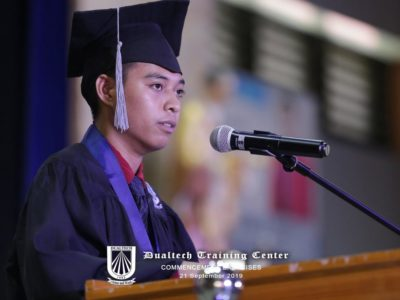 John Mark D. Mata, from Valencia City Bukidnon | Scholar, Angelicum Foundation | Trained at Susalum Corporation